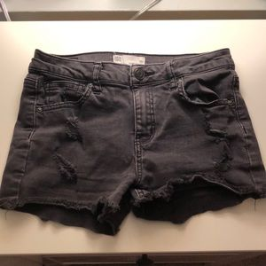 Black Tillys Denim Shorts